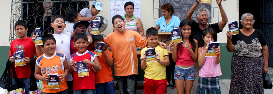 Quaker program for children in Guayaquil