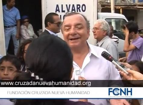 [VIDEO] Fundación Cruzada Nueva Humanidad celebra los treinta y tres años en que han ayudado a los ecuatorianos