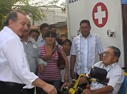 Alvaro Noboa and how he helped Ecuador through the Crusade For A New Humanity Foundation  [AUGUST-7-2012]