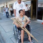 Emma Sabando Centeno - Wheelchair - Crusade for a New Humanity - Alvaro Noboa