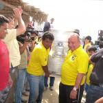La Fundación Cruzada Álvaro Noboa Realiza Recorrido en la Península de Santa Elena Entregó una Amasadora Industrial