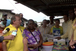 The Crusade for a New Humanity Foundation Delivered a Soda Bar in Quininde