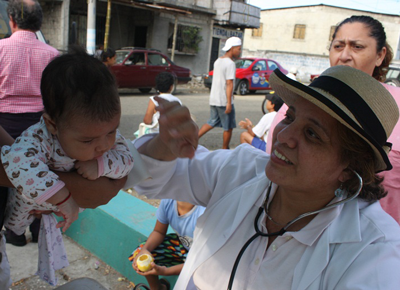 Jenny Arteaga, 30 years helping to help
