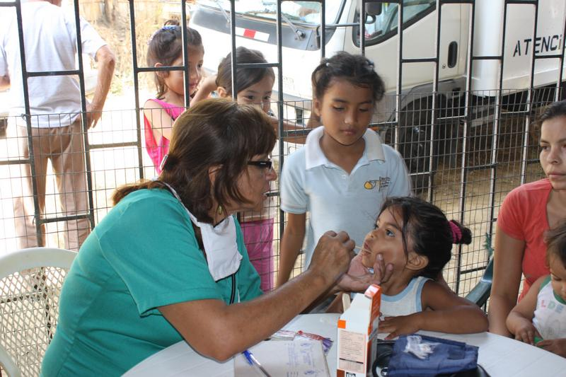 Crusade for a New Humanity Foundation provided medical care in Flor de Bastión
