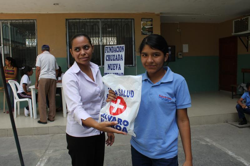 FCNH atiende a estudiantes del colegio Profeta Jeremías