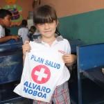 Juan Carlos Luanga School received the visit of the Foundation Cruzada Nueva Humanidad