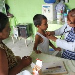 Medical Brigades visit Las Mercedes Cooperative, southwest of Guayaquil