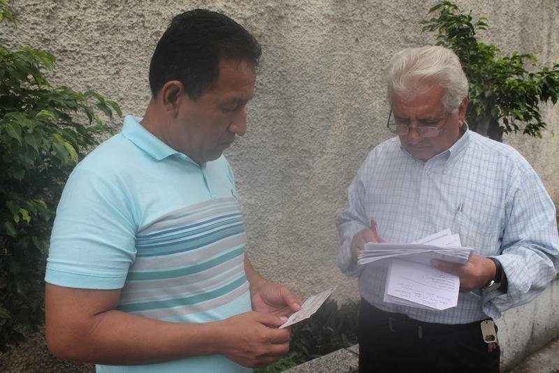 Alvaro Noboa Foundation and his help on April 29th, 2014