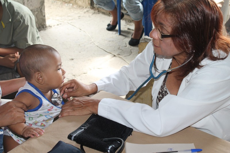 Medical Brigades in Guasmo Norte (Guayaquil) [May 14, 2014]